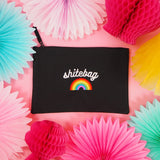 """Shitebag"" Zip Pouch Bag"