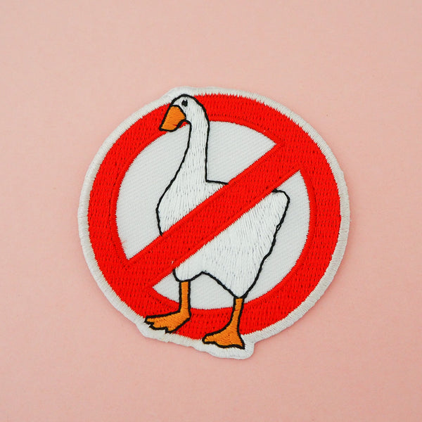 No Geese Patch - Hand Over Your Fairy Cakes - hoyfc.com