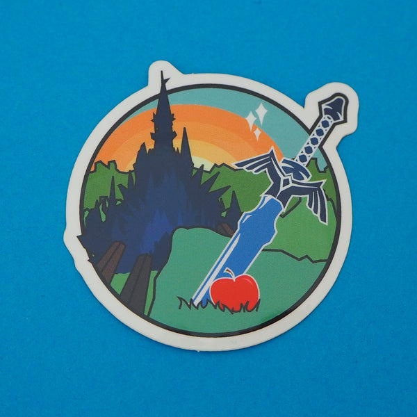 Adventurer Vinyl Sticker - Hand Over Your Fairy Cakes - hoyfc.com