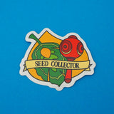 Seed Collector Vinyl Sticker - Hand Over Your Fairy Cakes - hoyfc.com