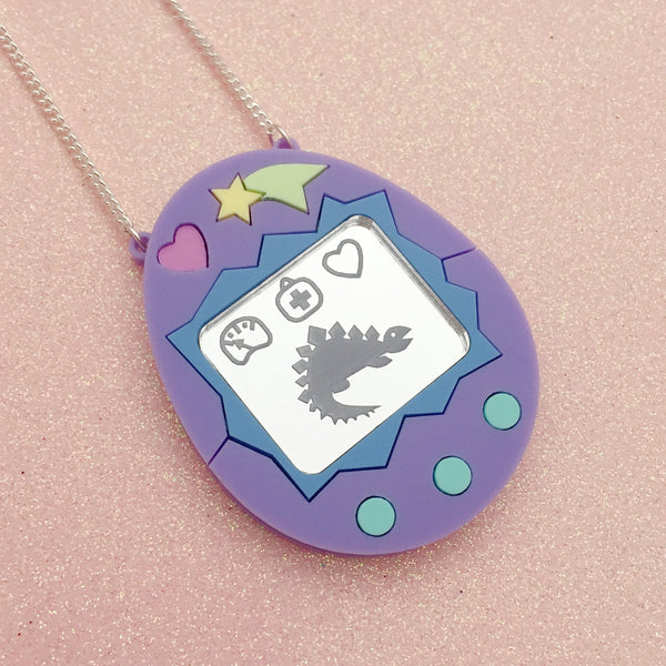 Virtual Pet Necklace - Hand Over Your Fairy Cakes - hoyfc.com