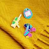 Water Gun - Enamel Pin - Hand Over Your Fairy Cakes - hoyfc.com