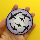 Shark Patch - Hand Over Your Fairy Cakes - hoyfc.com