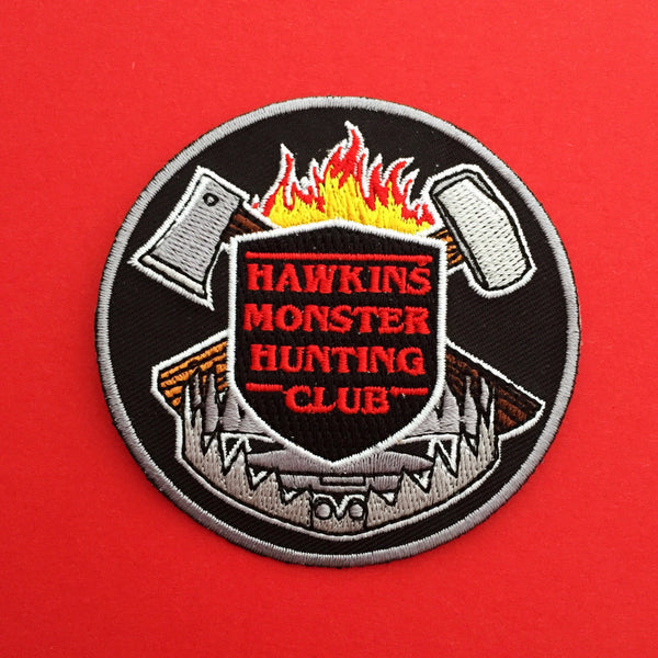 """""""Hawkins Monster Hunting Club"""" Stranger Things Patch"""