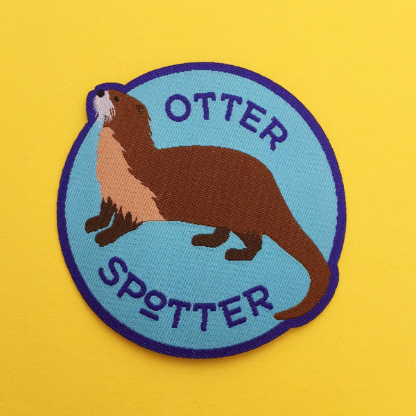 Otter Spotter Patch - Hand Over Your Fairy Cakes - hoyfc.com