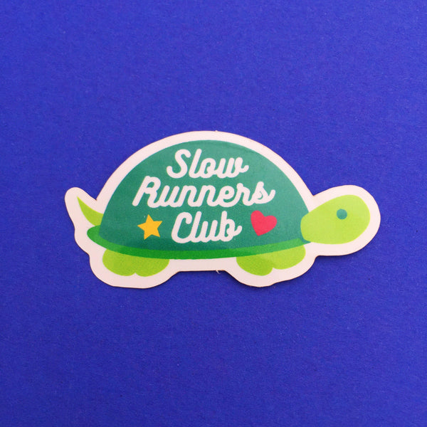 Slow Runners Club Vinyl Sticker