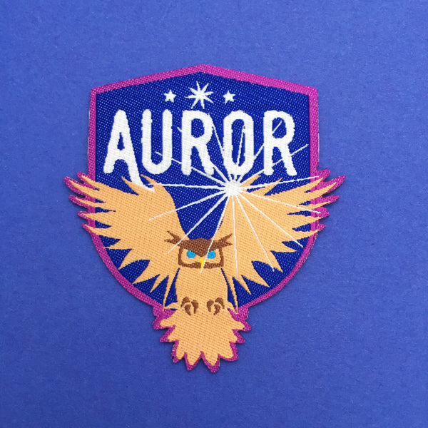 Auror Patch - Hand Over Your Fairy Cakes - hoyfc.com