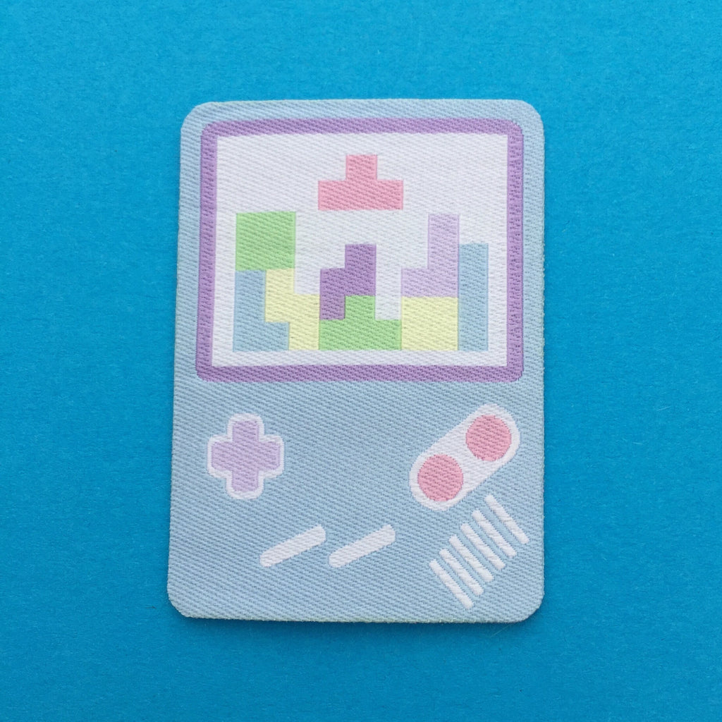 Pastel Gameboy Tetris Patch - Hand Over Your Fairy Cakes - hoyfc.com