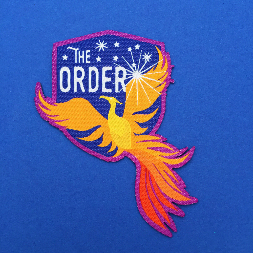 The Order of the Phoenix Patch - Hand Over Your Fairy Cakes - hoyfc.com