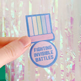 Fighting Invisible Battles Patch