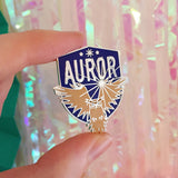 Auror Enamel Pin - Hand Over Your Fairy Cakes - hoyfc.com