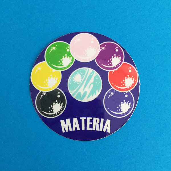 Materia Vinyl Sticker - Hand Over Your Fairy Cakes - hoyfc.com