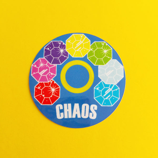 Chaos Vinyl Sticker - Hand Over Your Fairy Cakes - hoyfc.com