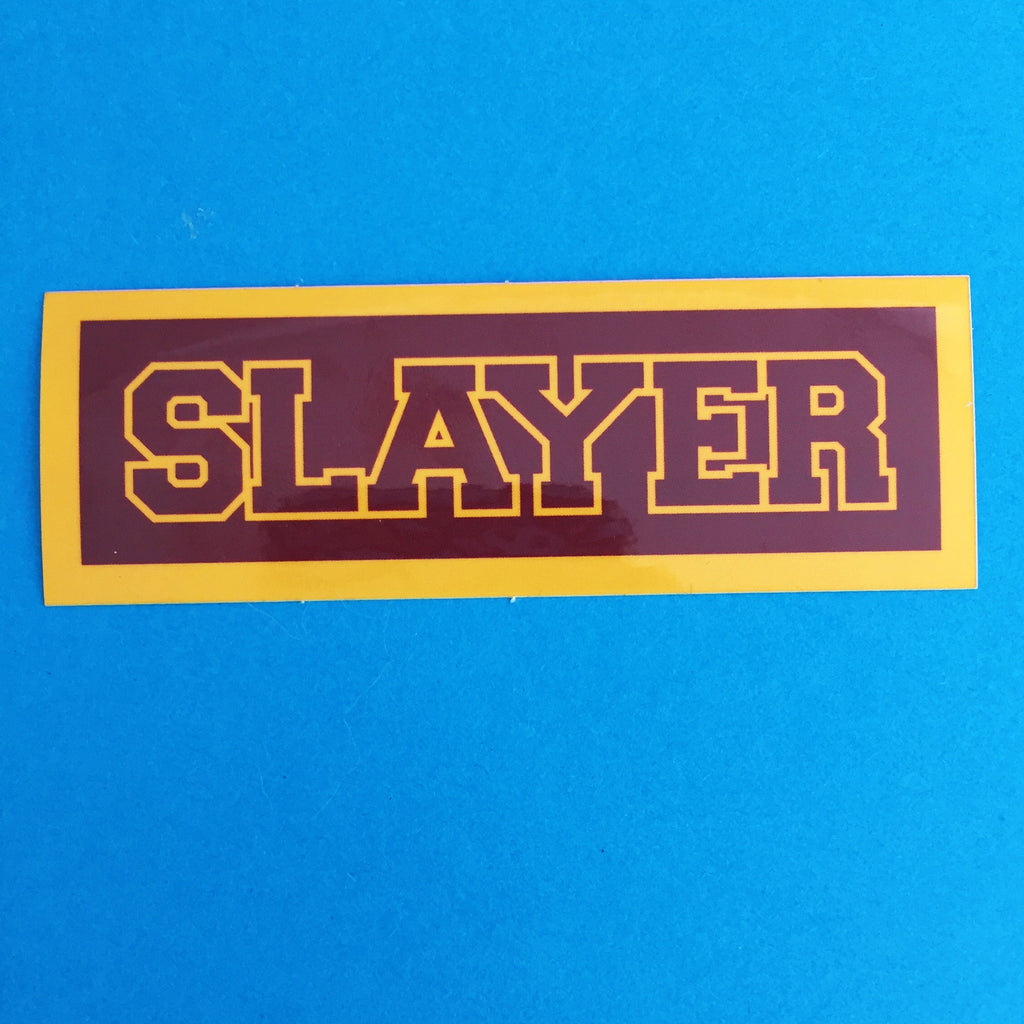 Sunnydale Slayer Vinyl Sticker - Hand Over Your Fairy Cakes - hoyfc.com