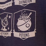 Wizard Class 3/4 Sleeve Baseball T-Shirt