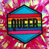 Queer Rainbow Patch - Hand Over Your Fairy Cakes - hoyfc.com