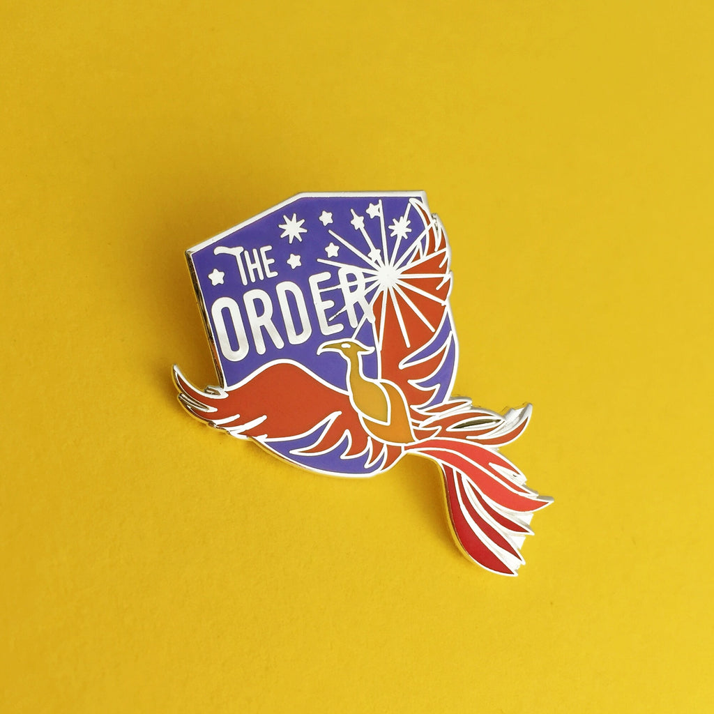 The Order of the Phoenix - Enamel Pin - Hand Over Your Fairy Cakes - hoyfc.com