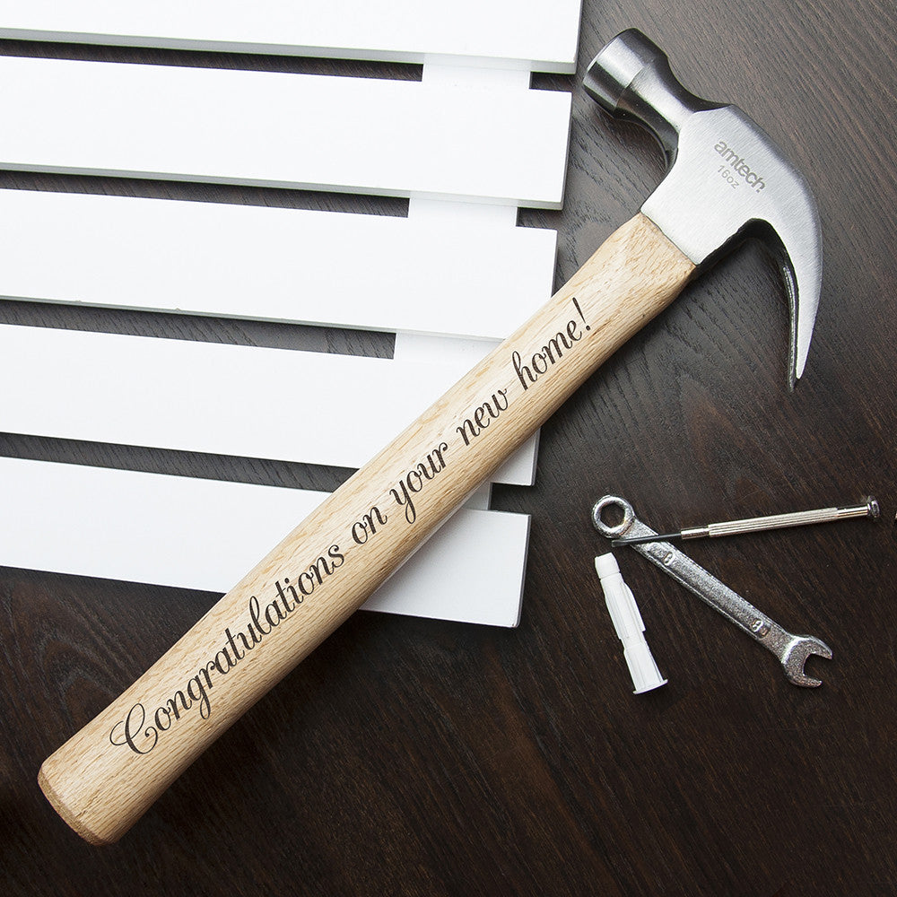 Personalised Wooden Hammer