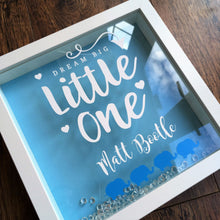 Dream Big Little One New Baby Frame- Pink, Blue or Cream