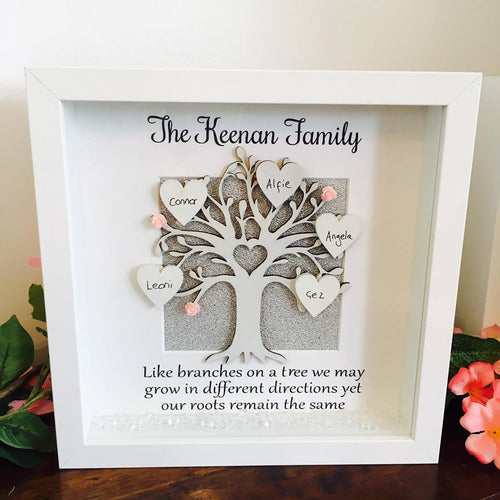 Family Tree Frame: Branches on a Tree
