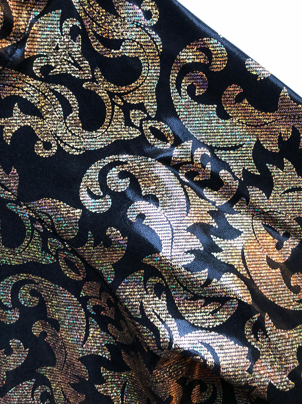 THE GOLDEN PAISLEY PANT