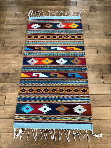 Mexican rug made of lambswool