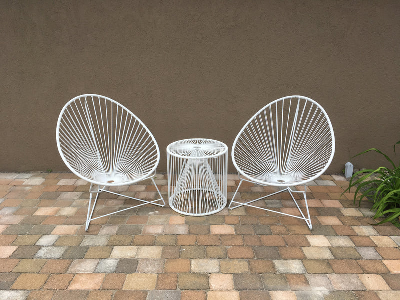 White Acapulco Chair