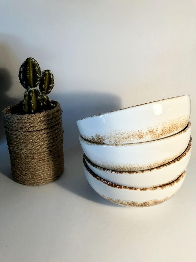Set of 4 Bowls Artisan