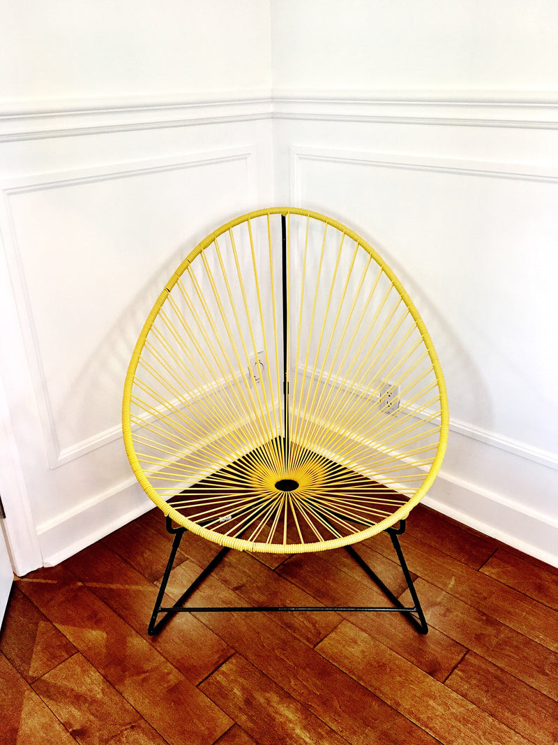 Yellow Classic Acapulco Chair