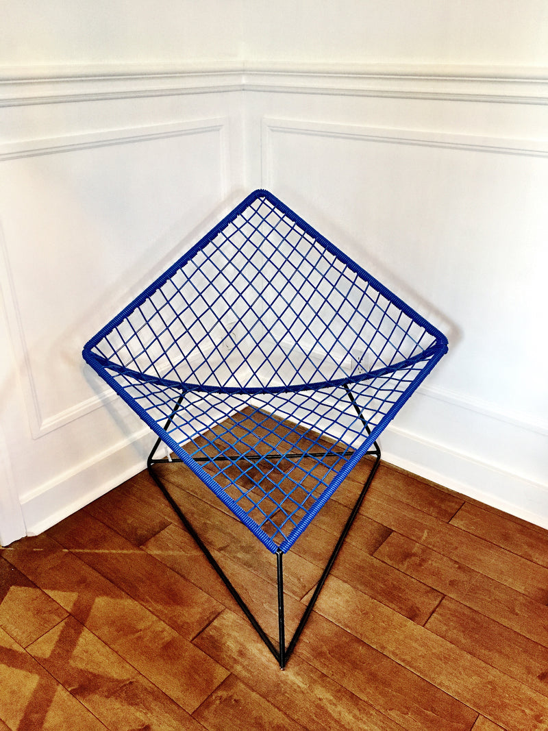 Royal blue Cometa chair
