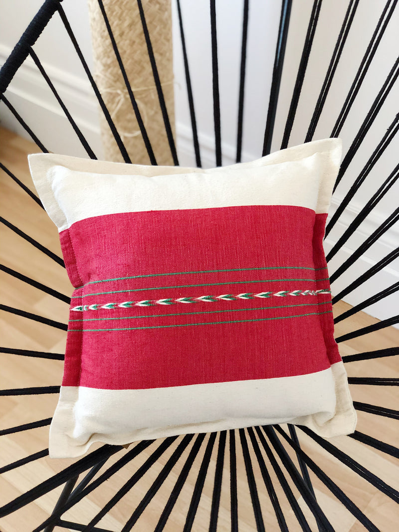 The cushion cover cherry
