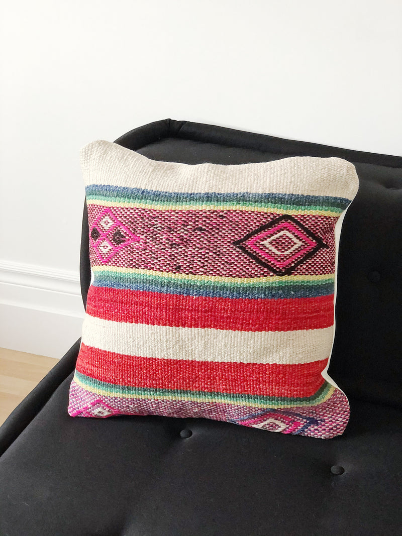 The Huata cushion cover