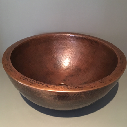 Copper centerpiece