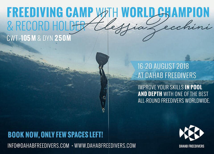 Freediving camp with Alessia Zecchini