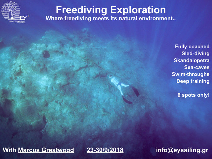 Freediving Exploration with Marcus Greatwood