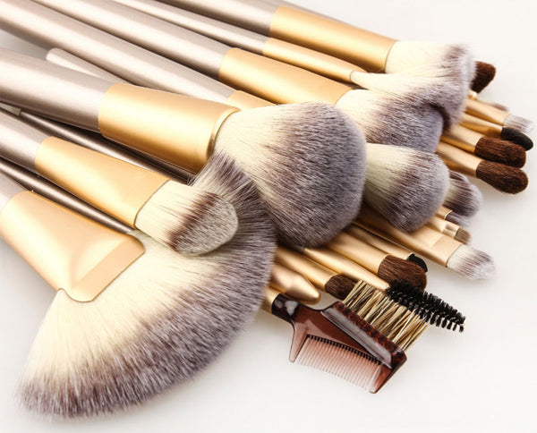 Professional Set Brushes - 24 Pieces