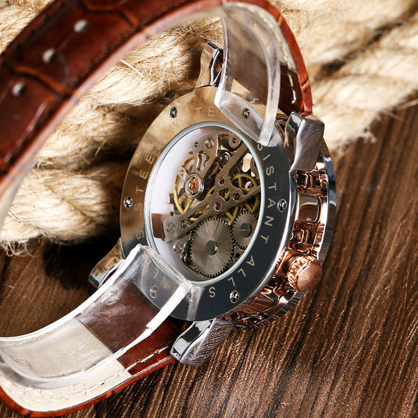 Luxury Skeleton Mechanical Watch