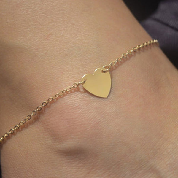 Heart Anklet Chain