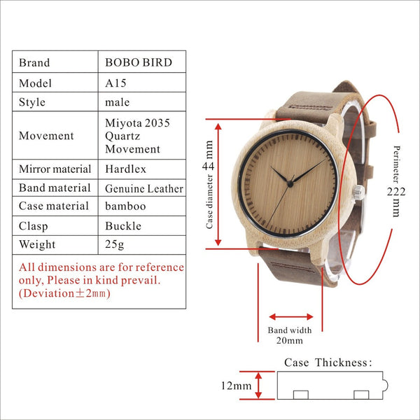 Luxury Wood Watch