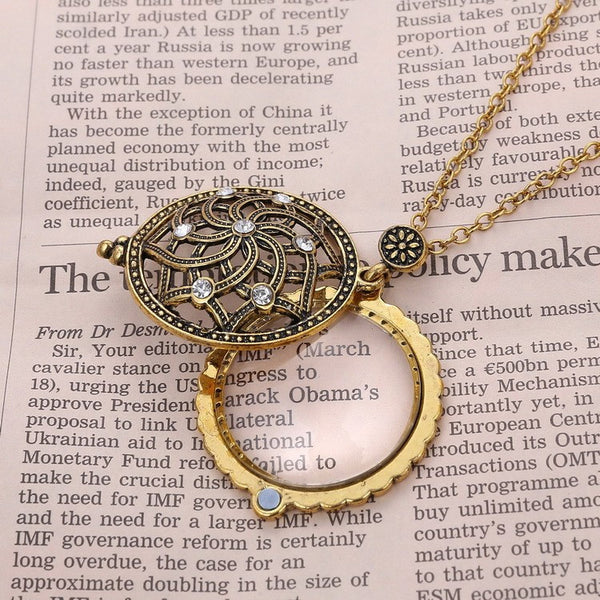 Vintage Brilliant Rose Pendant