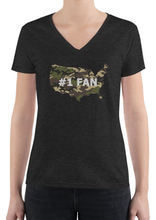Limited Edition - #1 Fan - Women's V-Neck T-Shirt