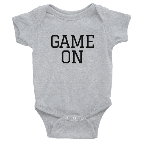 Game On Infant Onesie