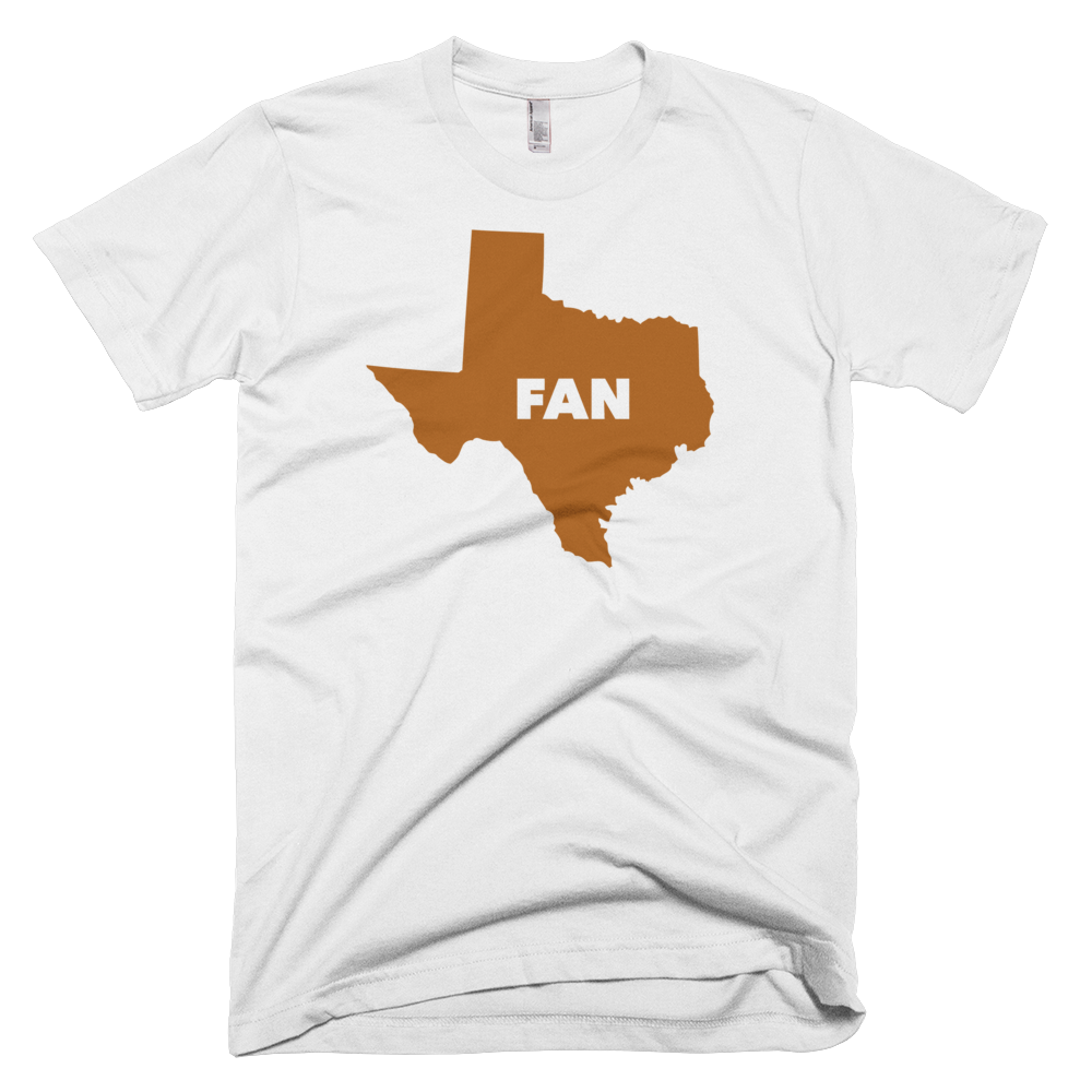 Texas Fan - Short Sleeve T-shirt