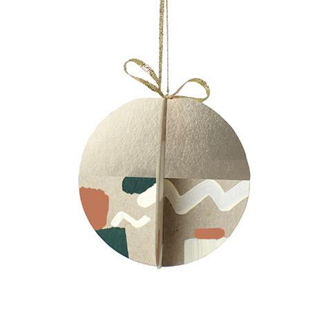 Hollyjolly Painted Ornament