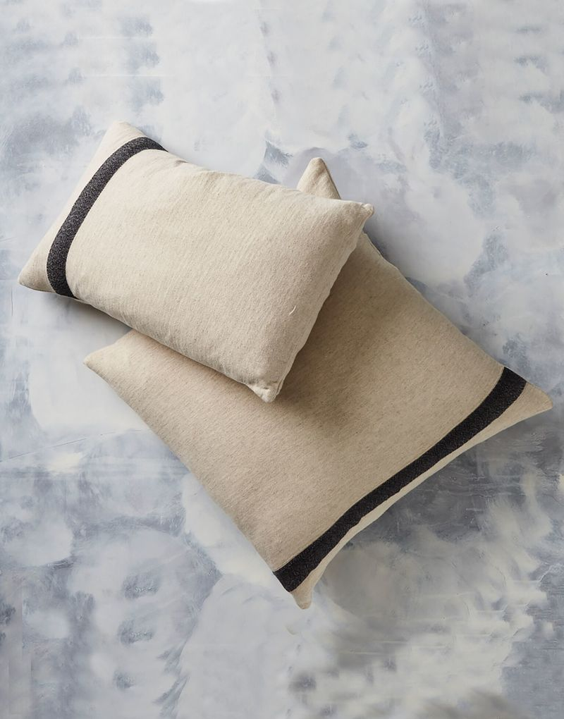Kadir Linen Rectangular Cushion