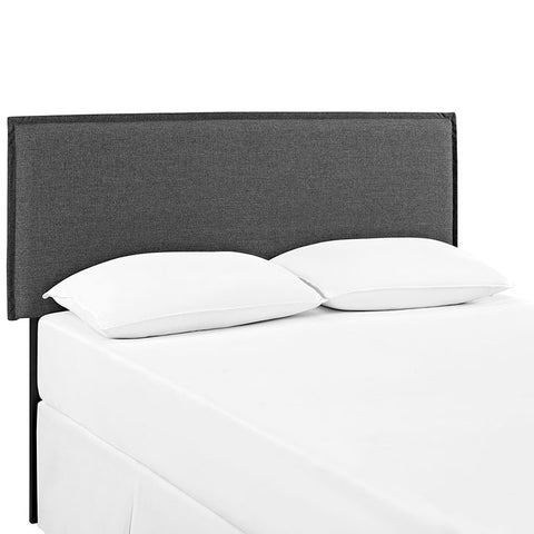 Cam Grey Upholstered Headboard - 3 Sizes