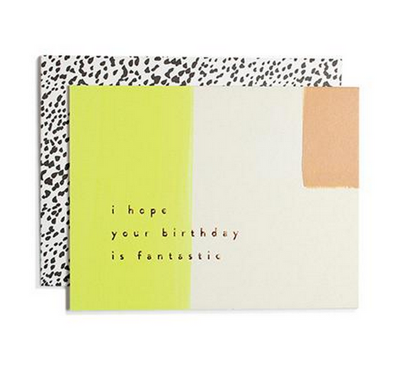 I Hope Your Birthday...Fantastic a card