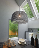 Woven Dome Ceiling Pendant