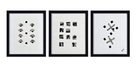 Black + White Art Set of 3