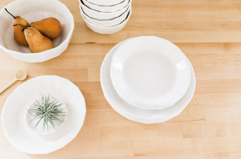 Riveted Salad Plate
